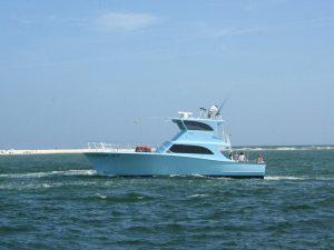 Class Act Deep Sea Fishing Boat on Water