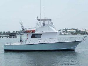 Legacy Deep Sea Fishing Boat on Water