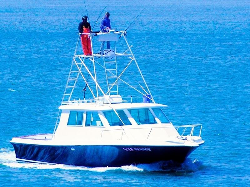 Anglers Atop Wild Orange's Platform